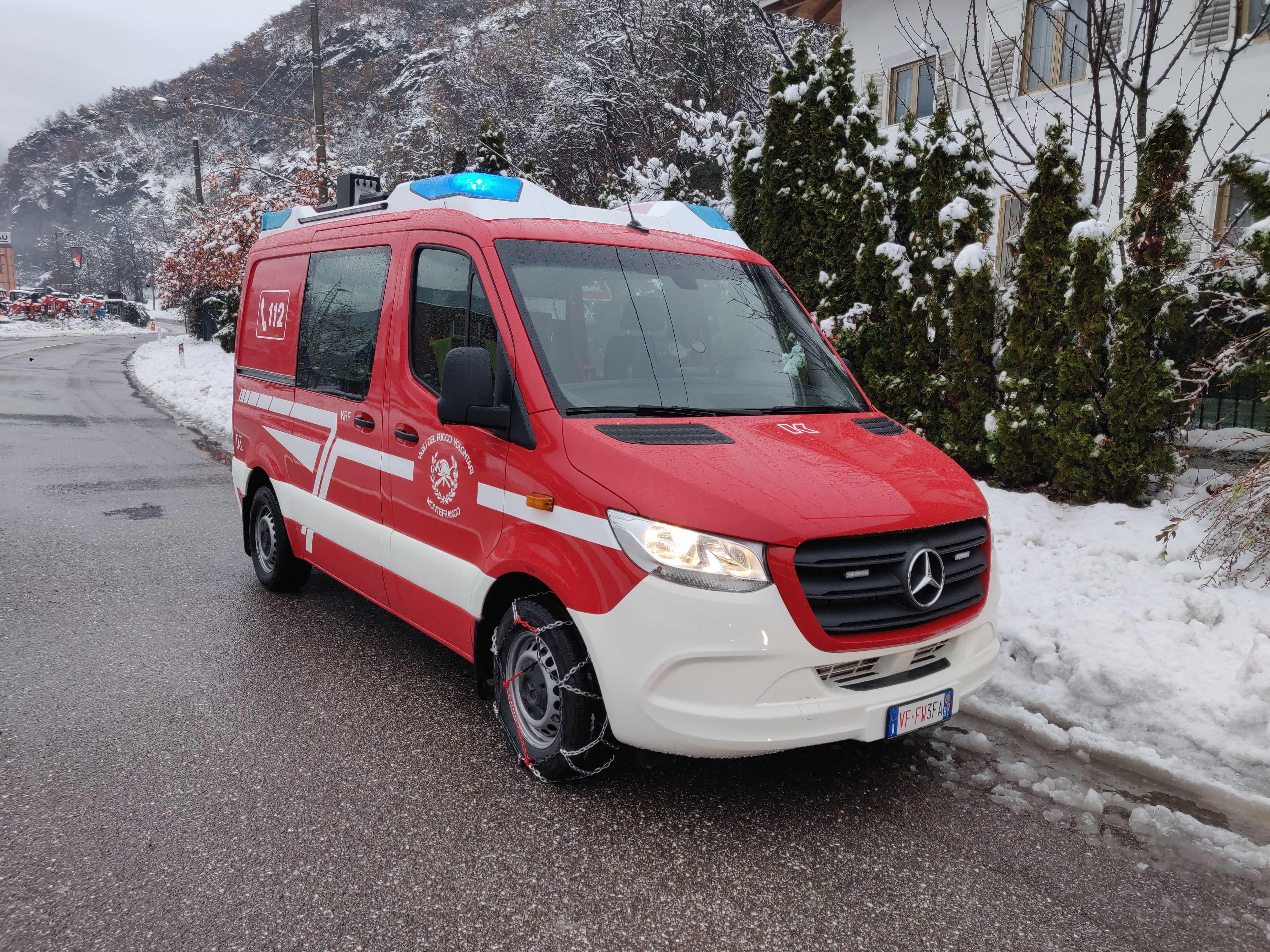 Kleinrüstfahrzeug - KRF